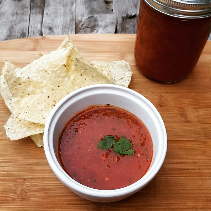 -Homemade Salsa-