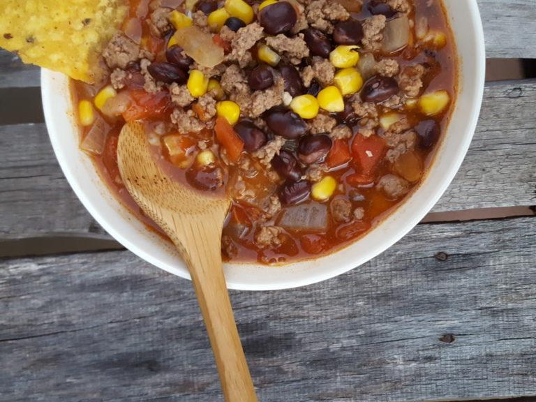 Venison Enchilada Soup