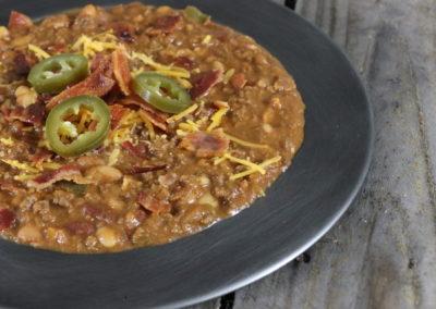 Smokey Buck Bean Chili